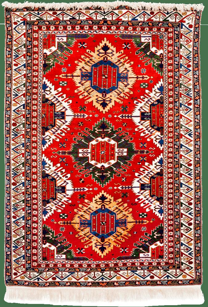 Mattvätt orientaliska mattor